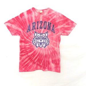 Arizona Wildcats custom dyed tshirt